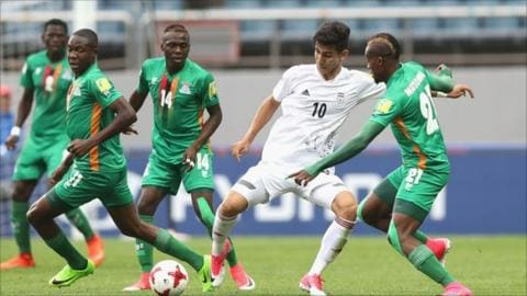 ZAMBIA SECURES A COMEBACK VICTORY OVER IRAN