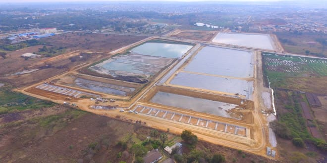 KAUNDA SQUARE STABILISATION PONDS TO BE COMPLETED THIS YEAR