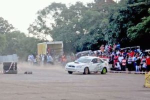 Singh and Co-driver Shine at Alliance Motor Rally Competition.