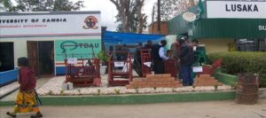 The TDAU stand during the 90th Agriculture and Commercial Show, held in Lusaka.