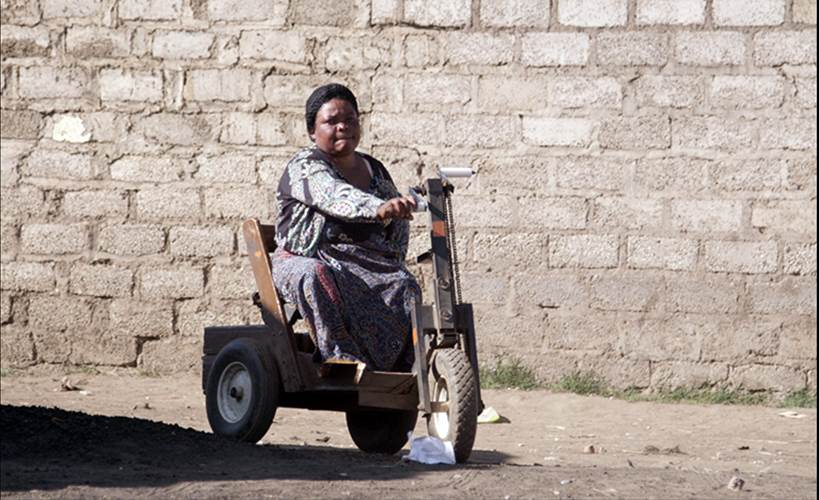 WOMEN WHO ARE PHYSICALLY CHALLENGED NOT RECOGNIZED- MULENGA