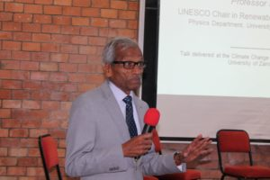 UNZA DON CALLS FOR SOLAR ENERGY INVESTMENT