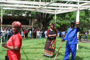 UNZA EXTENDS CLEAN CAMPAIGN TO KAMWALA MARKET