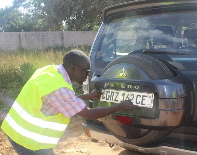 CONTINUED USE OF GRZ AUCTIONED VEHICLE NUMBER PLATES IRKS GOVT
