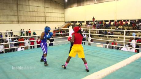 ZAMBIAN BOXING RING OVER 30 YEARS OLD