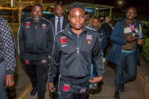 CATHY ARRIVES IN KENYA TO FACE ZARIKA