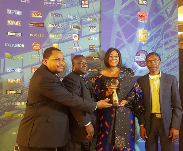 ZAMBIA PRESENTED WITH INTERNATIONAL STAR LEADERSHIP AWARD