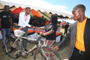 FIRST LADY, AIRTEL DONATE BICYCLES TO IGNITE MATERNAL HEALTH