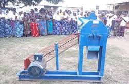 LUO DONATES HAMMER MILL TO KALINGALINGA'S CATHOLIC WOMEN