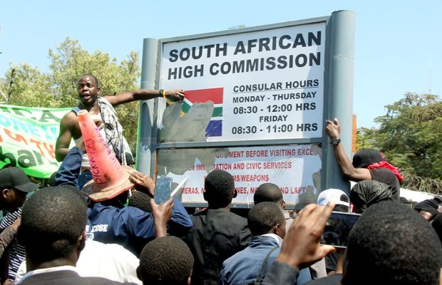 XENOPHOBIA SETS UNZA ON FIRE