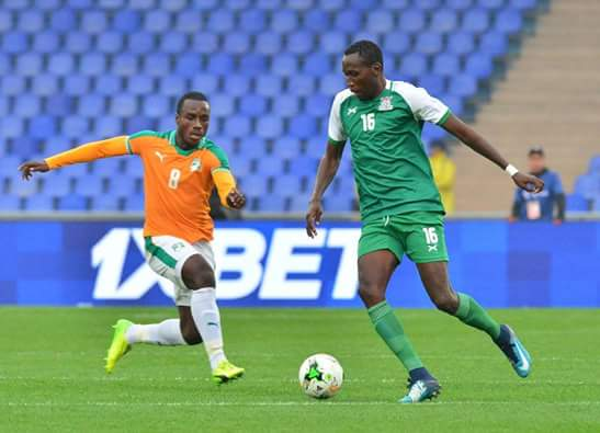 ZAMBIA TO FACE NAMIBIA AT CHAN QUALIFIERS