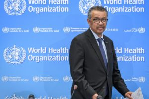 WHO DECLARES COVID-19 A PANDEMIC