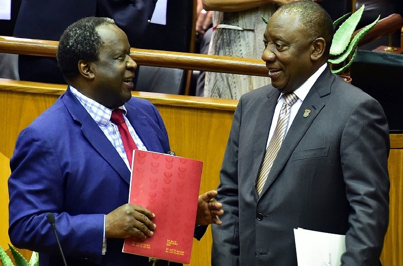 RAMAPHOSA REPRIMANDS MBOWENI FOR PUBLIC CRITICISM OF PRESIDENT LUNGU