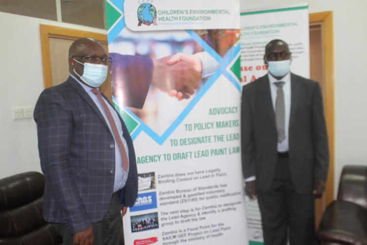 CEHF calls on GOVT to expedite the lead in paint statutory formulation